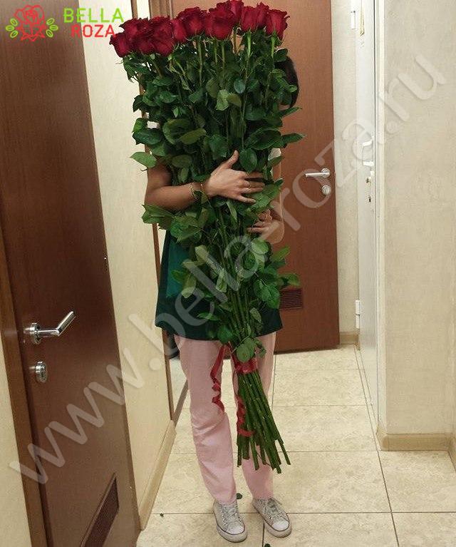 Самые длинные розы купить чподарок жене